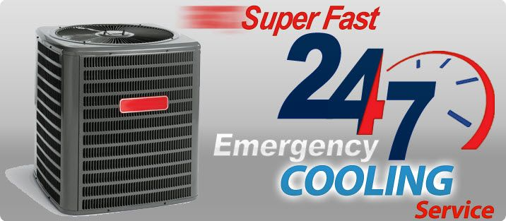Super Fast 24/7 Emergency Cooling