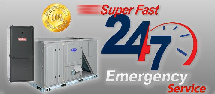 Super Fast 24/7 Emergency Service - Gas Hot Air Furnance