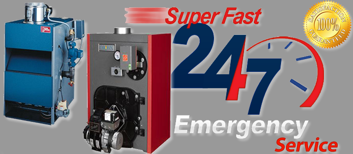 Super Fast 24/7 Emergency Service - Hot Water Boiler