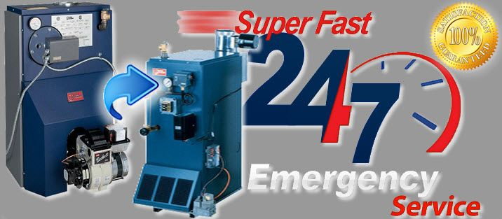Super Fast 24/7 Emergency Service - oil to gas conversion