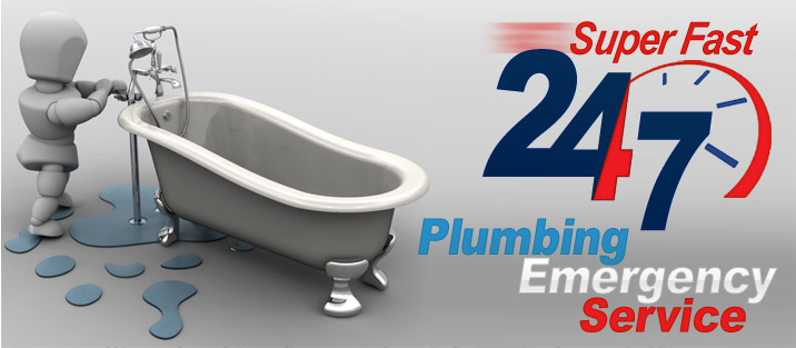 24/7 Super Fast Plumbing Emergency Service