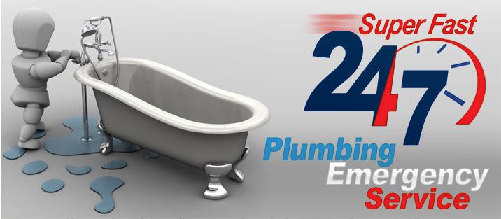 24/7 Super Fast Plumbing Emergency Service